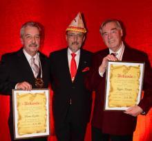 CC-Verdienstorden für Ralph Marquis und Werner Kochler