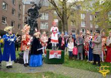 Kinderhoppeditz am Hoppeditzdenkmal