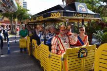 Teneriffa: Herzlicher Empfang für Düsseldorfer Karnevalisten