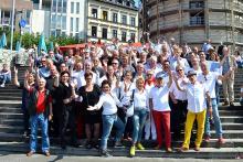 CC-Präsidentenrundgang: Altstadt fest in jecker Hand
