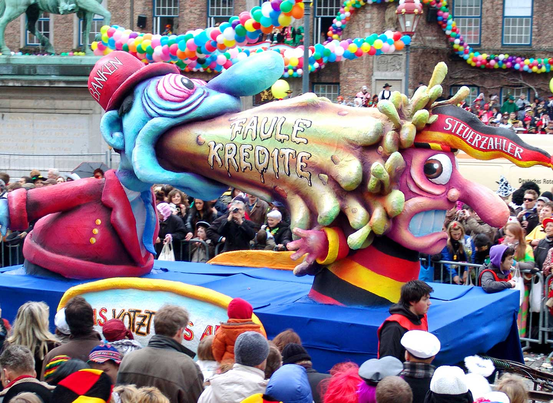 Düsseldorf Karnevalszug 2019