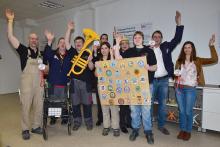 Zum Rosenmontagszug gibt es wieder eine Tribüne für Menschen mit Handicap