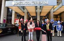 Glanzvoller Einzug in die Hofburg Hotel InterContinental