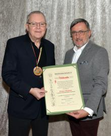 BDK-Verdienstorden in Gold für Peter Weber