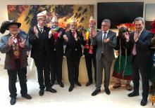 CC-Präsident Michael Laumen zu Gast in Brüssel