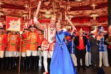 Prinz Axel I. und Venetia Jula als neues Prinzenpaar gekürt