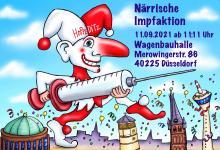 Impf-Aktionstag der Karnevalisten am 11. September: