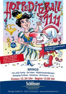 Am 11.11. ab 13 Uhr in Düsseldorf: Mega-Show im Henkelsaal