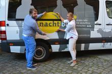"""Künftiges Prinzenpaar unterstützt """"Gutenachtbus"""""""